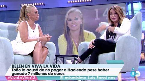 """Belén Esteban a Toñi Moreno: """"A Toño le diste hostias como panes"""""""