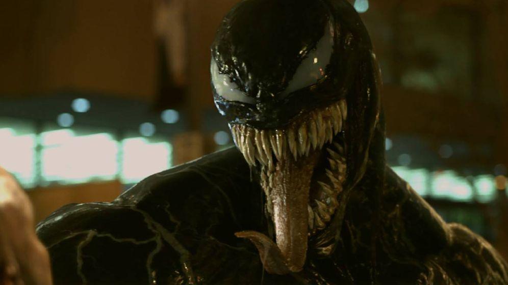 Foto: Tom Hardy es 'Venom'. (Sony)