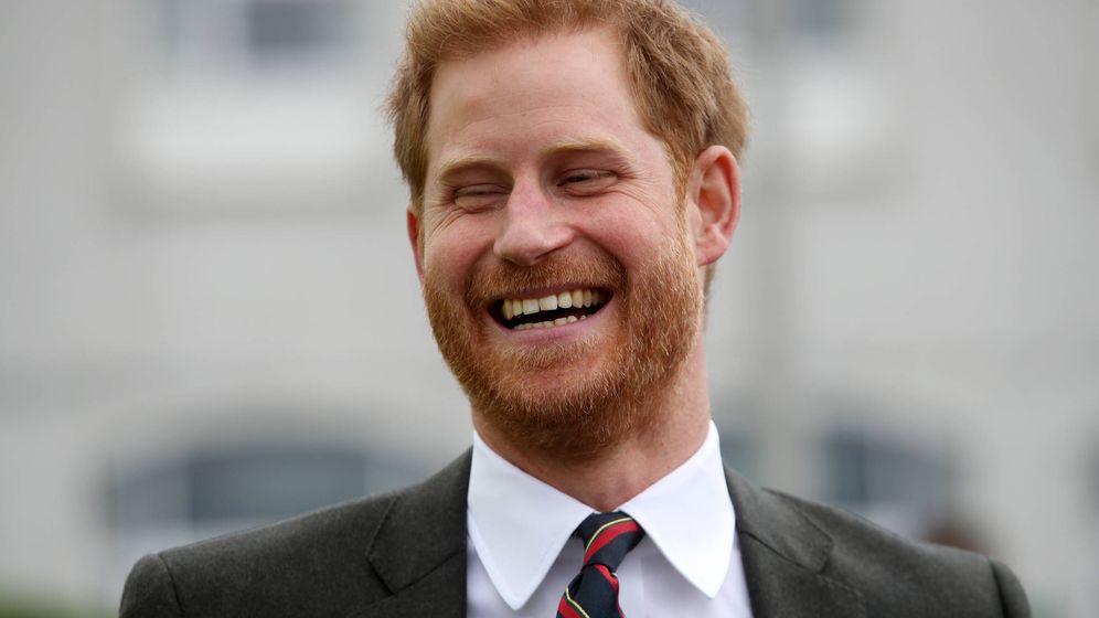 Foto:  El príncipe Harry está más feliz que nunca. (Getty)