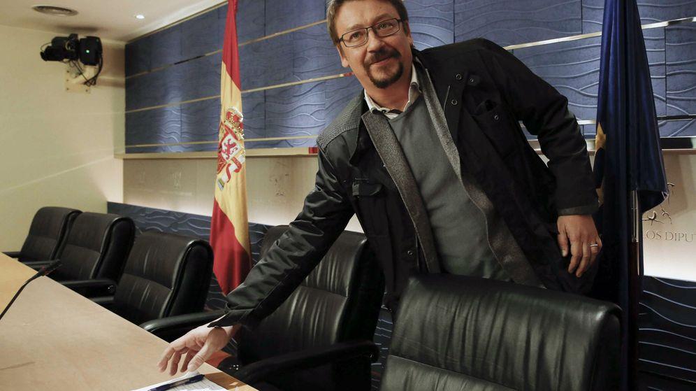Foto: El portavoz parlamentario de En Comú, Xavier Domènech. (EFE)