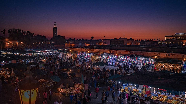 El Zoco de Marrakech. (A_Different_Perspective en Pixabay)