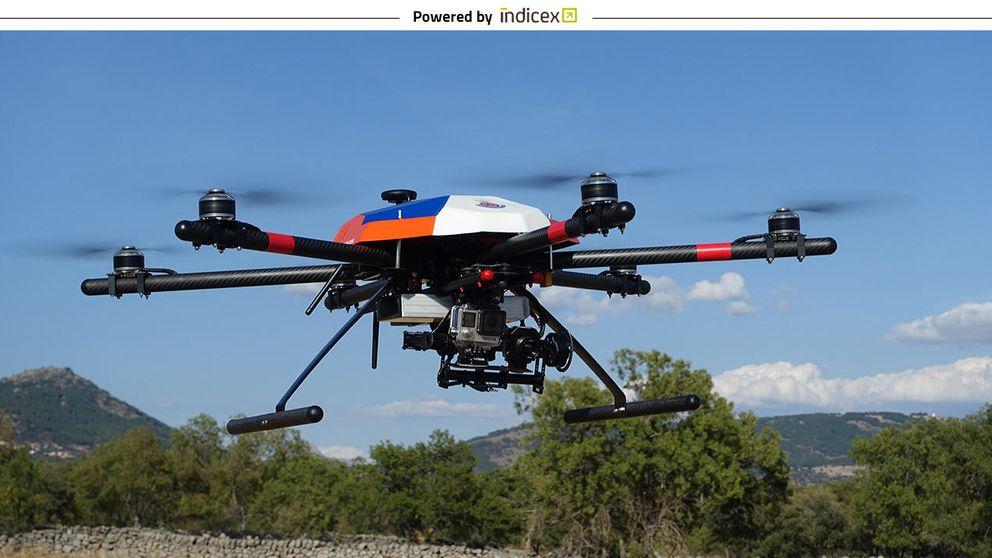 Los drones con sello español despegan con éxito desde la Politécnica