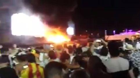 Cancelado el Tomorrowland Barcelona por un incendio en el escenario principal