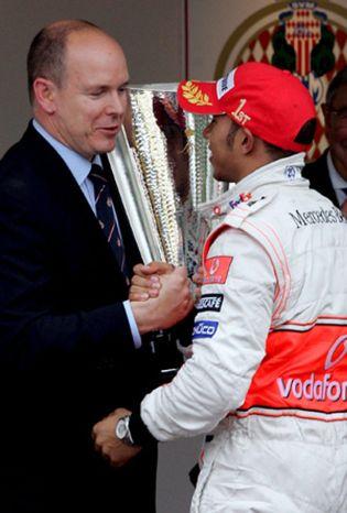 Foto: Alberto de Mónaco contra la Fórmula Uno