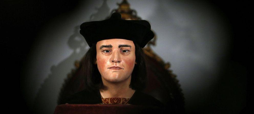 Foto: Reconstrucción facial del rey Ricardo III. (Reuters)