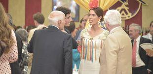 Post de Sofía Palazuelo y otros amigos, con los reyes de Holanda en Sevilla