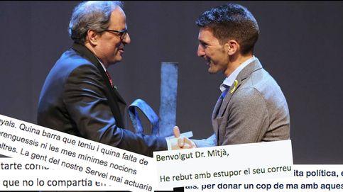 Los correos que destapan el cisma en la sanidad catalana por la dupla Torra-Mitjà