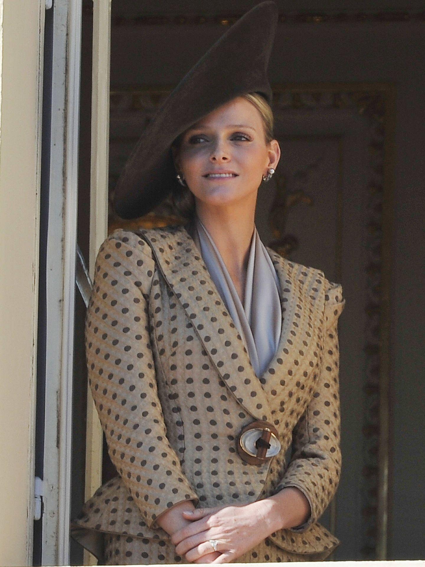La princesa Charlène, en la celebración de 2010. (Getty)