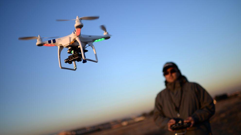 De mayor, guarda de seguridad (y piloto de drones)