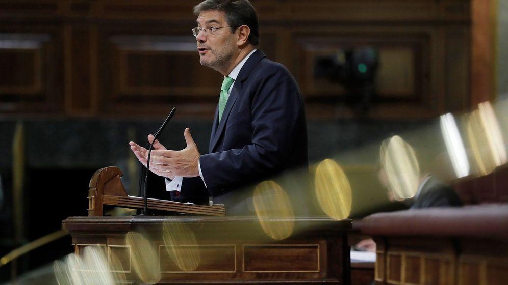 Foto: El ministro de Justicia Rafael Catalá. (EFE)