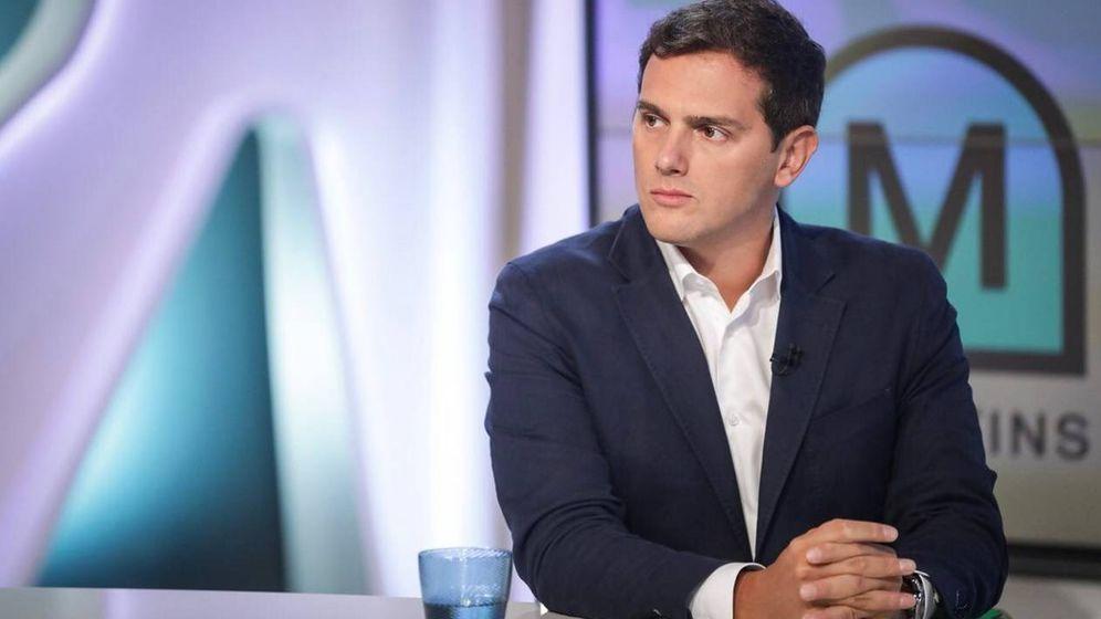 Foto: Albert Rivera, en 'Els matins' de TV3. (Ciudadanos).