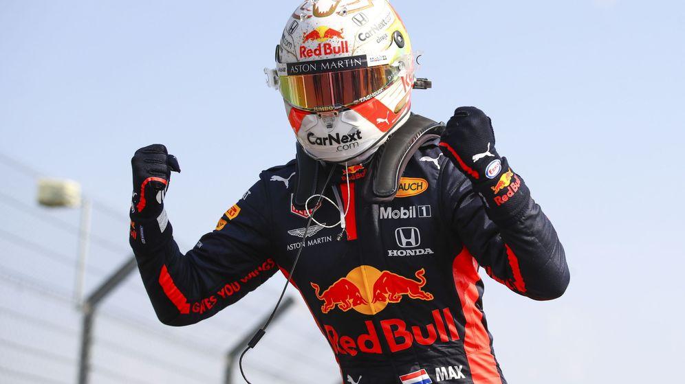 Foto: Verstappen acabó con el dominio de Mercedes. (EFE)