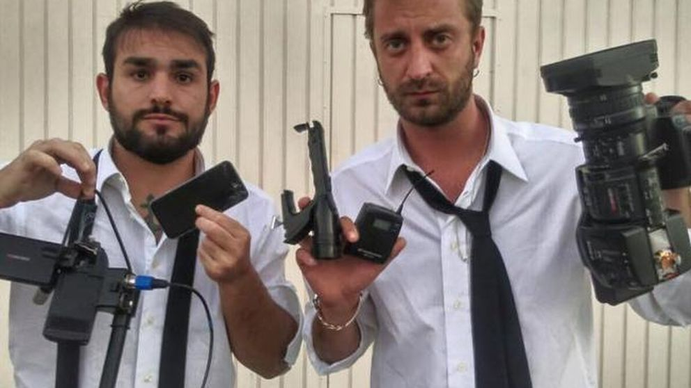 Dos periodistas italianos la lían en casa de Márquez y echan más leña al fuego
