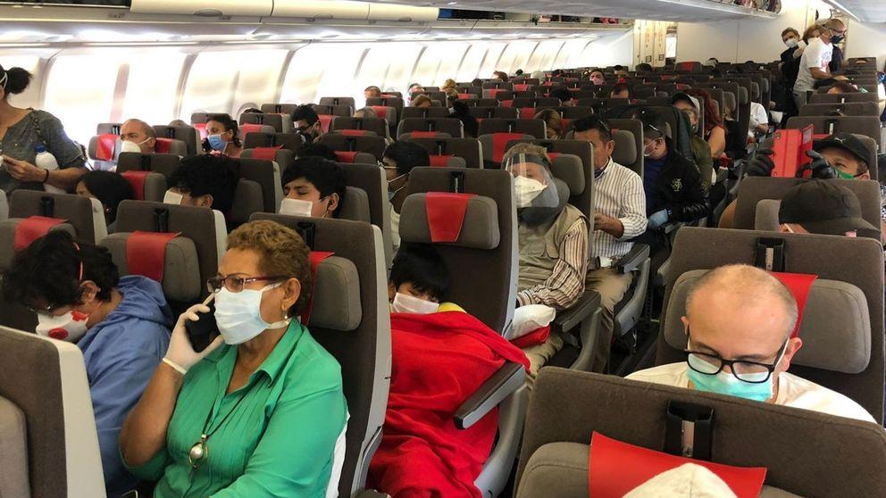 La Guardia Civil denuncia a Iberia por no respetar la distancia en uno de sus vuelos