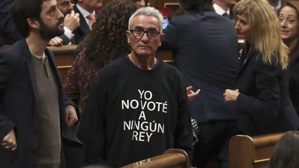 Foto: Diego Cañamero en el Congreso de los Diputados. (Efe)