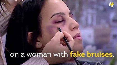 La televisión pública de Marruecos emite un tutorial para maquillar golpes