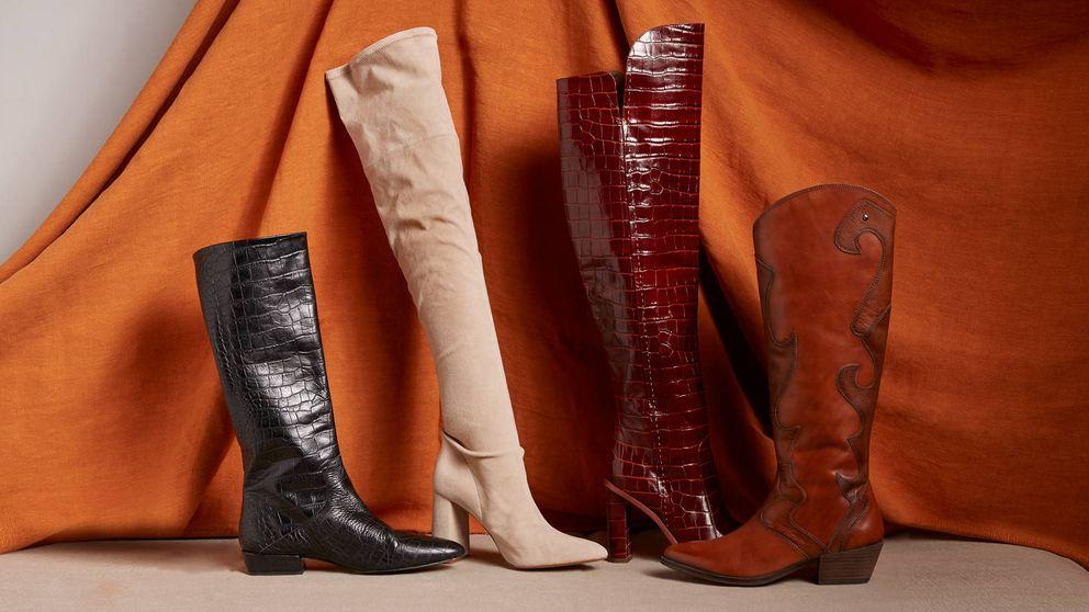 Las claves para llevar el zapato de la temporada, las botas altas