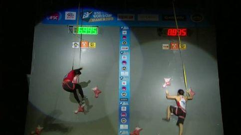 Nuevo récord del mundo de escalada de velocidad