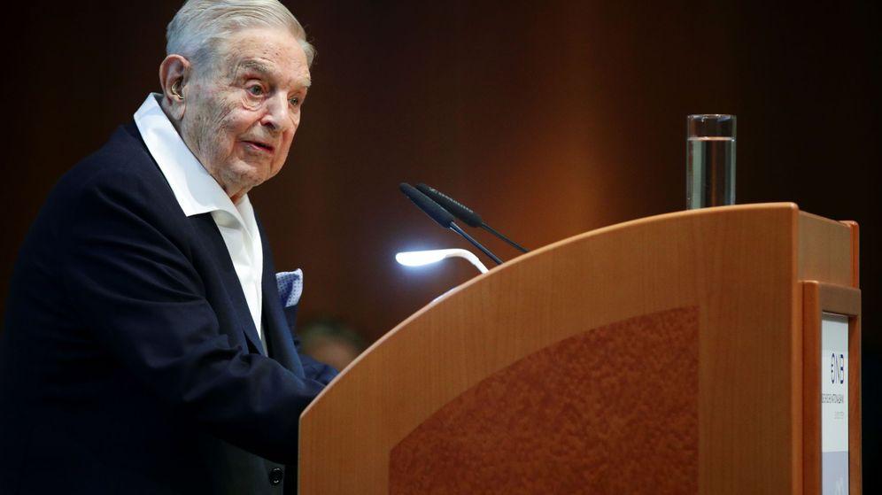 Foto: El inversor multimillonario George Soros. (Reuters)