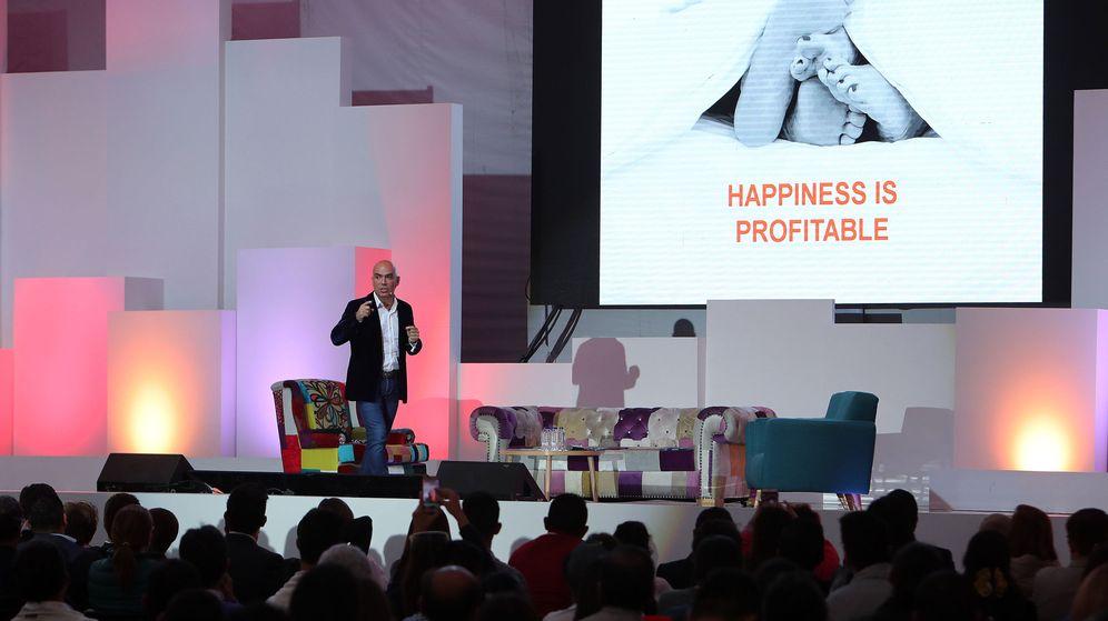 Foto: Kike Sarasola defiende que la felicidad de la plantilla es muy rentable.