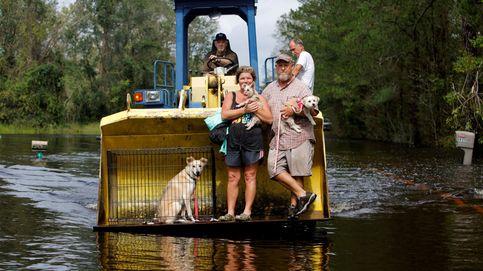 Escapando de las inundaciones