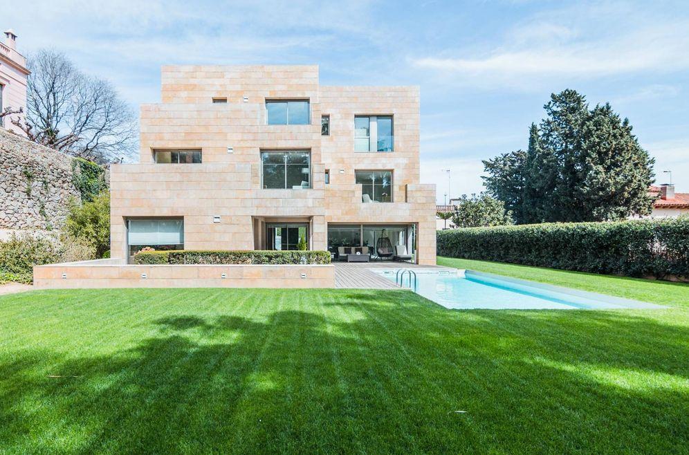 Foto: La casa de Pedralbes que se ha situado en el ranking de las cinco más caras en venta.
