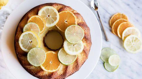 Receta de bizcocho jugoso de cítricos, un dulce vitaminado