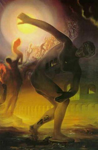 Foto: Los herederos del óleo de Dalí llevaban cuatro años reclamando al Rey la devolución del cuadro