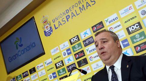 La Policía detiene al presidente de la UD Las Palmas en el aeropuerto para llevarlo al juez