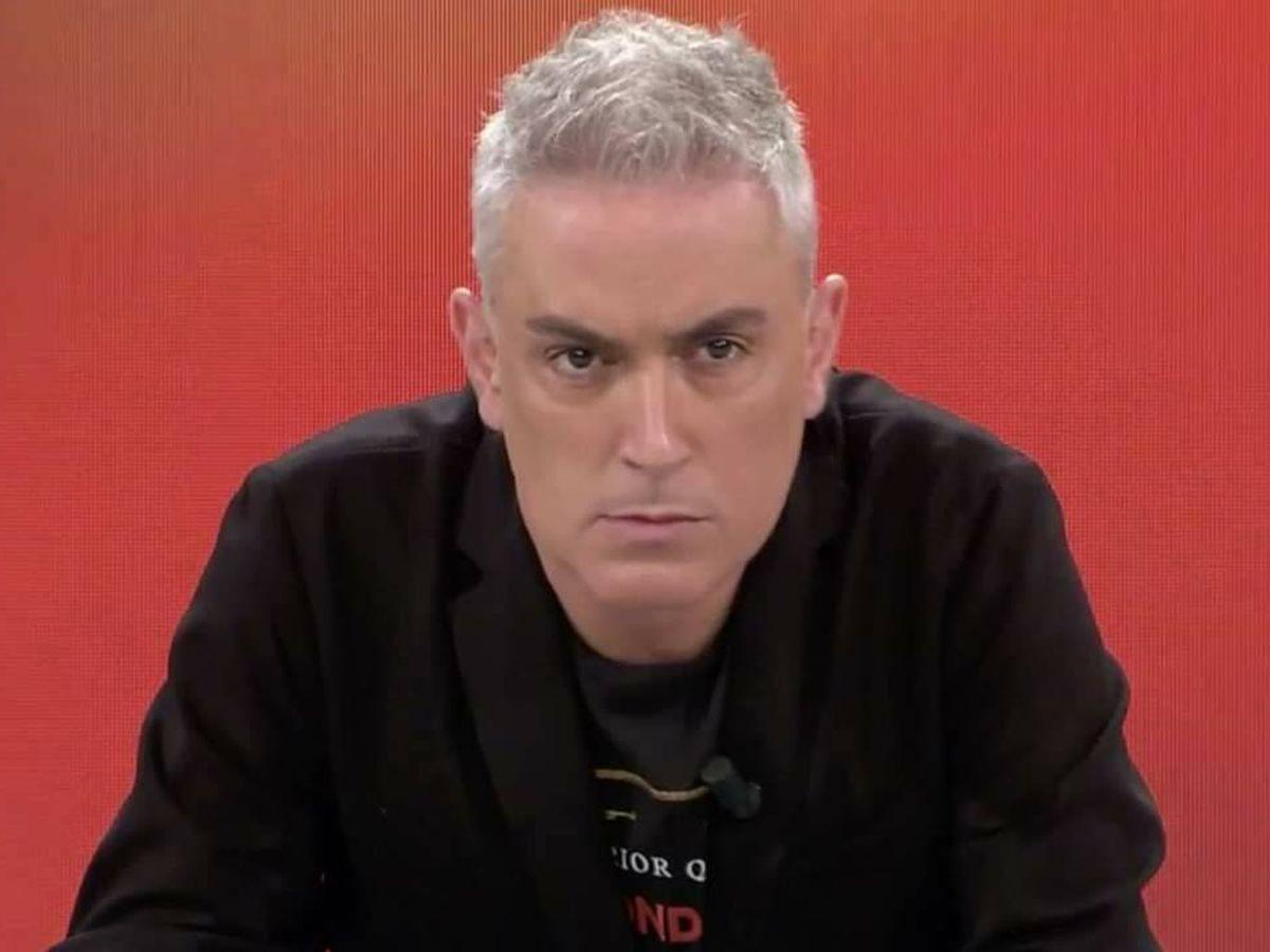 Foto: Kiko Hernández, en 'Sálvame'. (Telecinco)