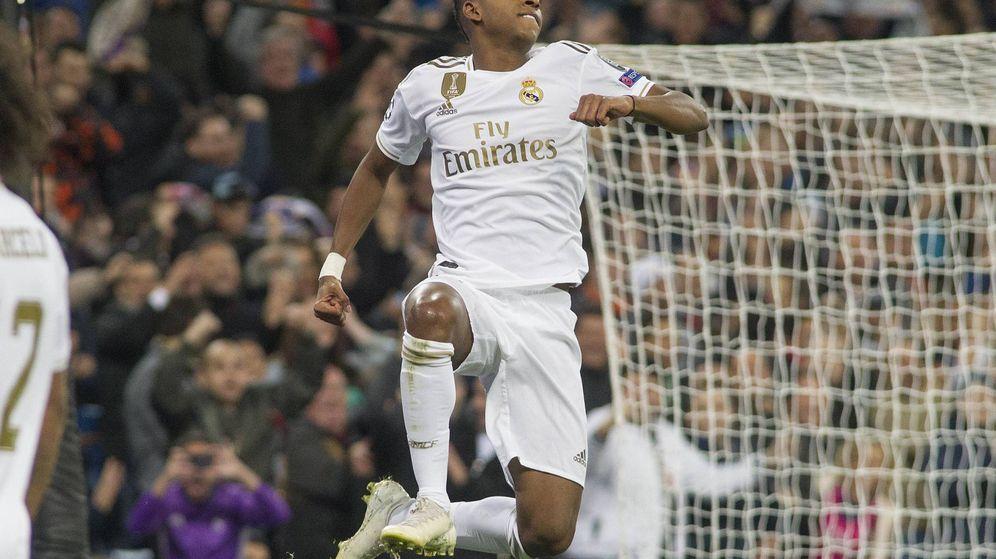 Foto: Rodrygo Goes, la sensación del Real Madrid. (Miguel J. Berrocal)