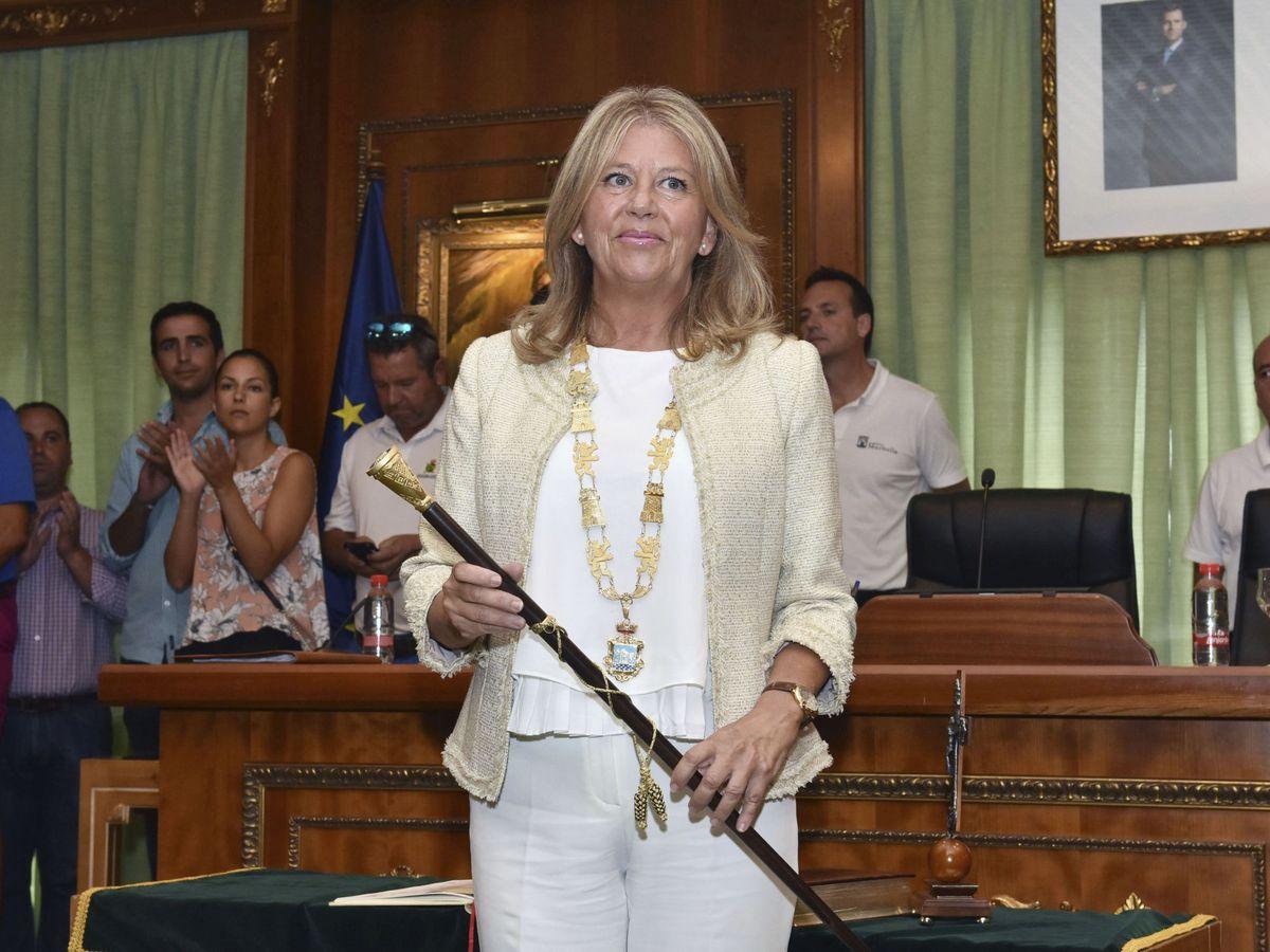 Foto: Ángeles Muñoz recuperó la Alcaldía de Marbella en agosto de 2017