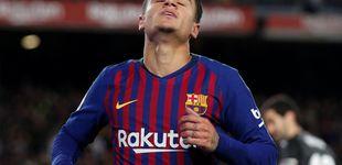 Post de El disgustado Coutinho estalla y Valverde reacciona para que no se vaya