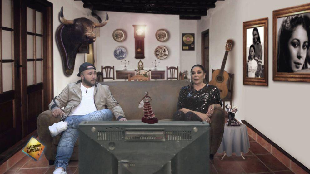 Motos 'ficha' a Isabel Pantoja y a Kiko Rivera para promocionar 'El hormiguero'