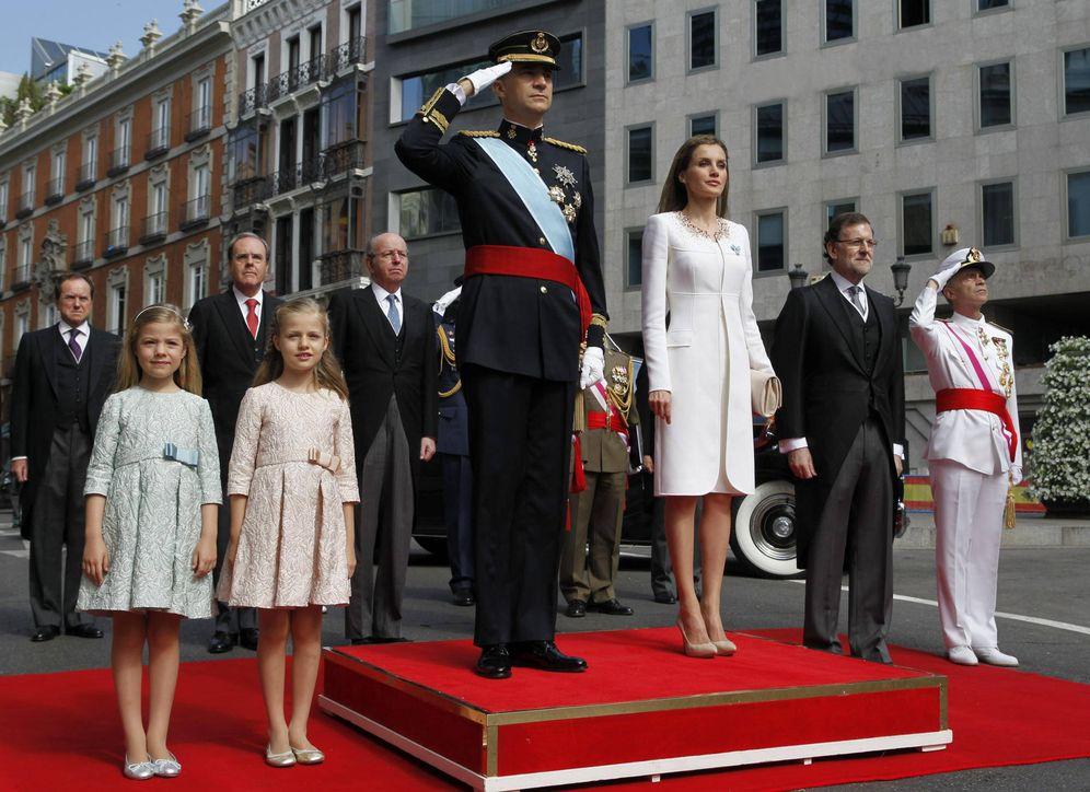 Foto: Proclamación de Felipe VI como Rey en el Congreso de los Diputados. (EFE)