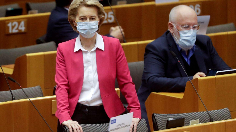 La presidenta de la CE, Ursula von der Leyen. (Reuters)