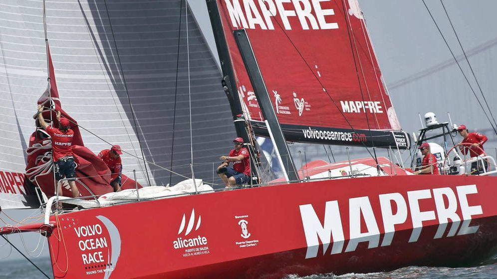 Foto: Logo de la aseguradore Mapfre. (EFE)