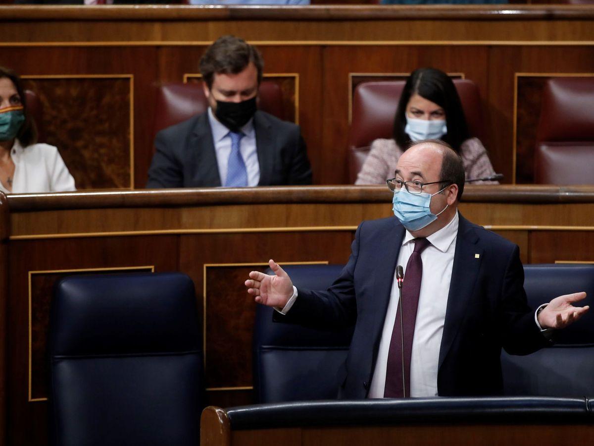 Foto: El ministro de Política Territorial, Miquel Iceta. (EFE)