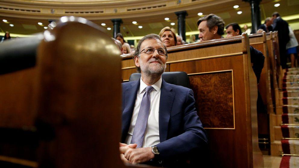 Rajoy en la investidura: Sánchez pasará a la historia por las terceras elecciones