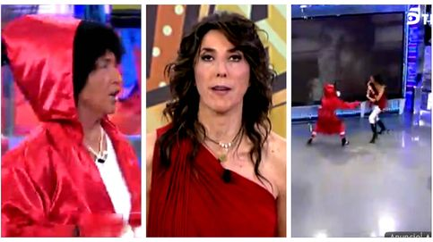 Paz Padilla pega (literalmente) a Lydia Lozano en 'Sálvame'