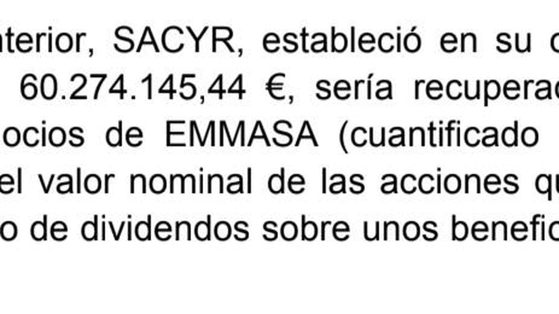 El informe del 12 de mayo del Ayuntamiento de Santa Cruz de Tenerife.
