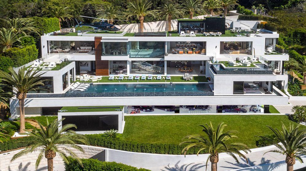 Foto: Vista panorámica de la espectacular casa del 924 de Bel Air Road. (http://www.924belair.com)