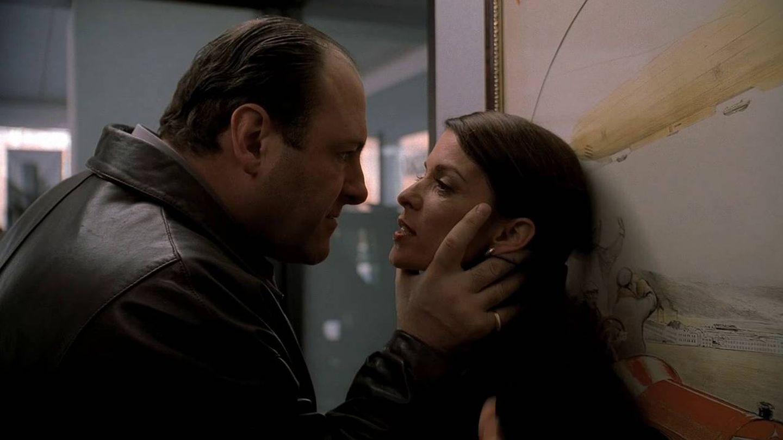 La actriz Annabella Sciorra en una imagen de la serie 'Los Soprano'.