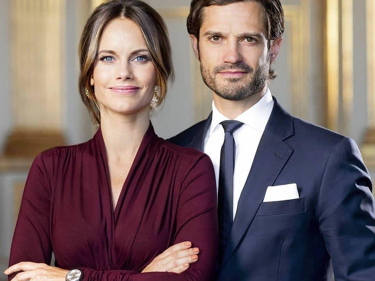 Foto: Carlos Felipe y Sofía de Suecia. (IG)