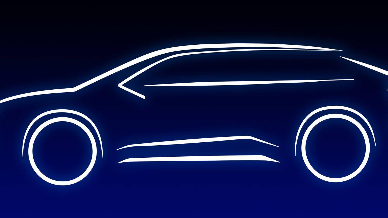 Esta es la silueta del nuevo todocamino eléctrico que Toyota lanzará en 2021.