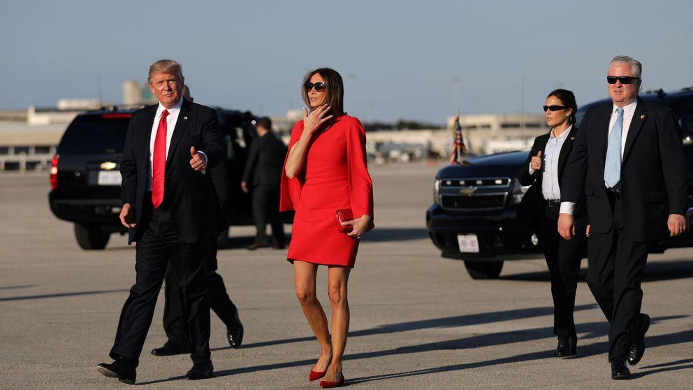 La 'sexy' reaparición de Melania Trump tras la toma de posesión