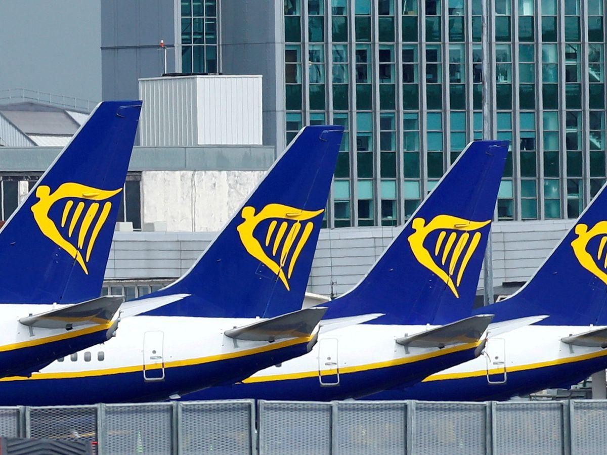 Foto: Aviones de Ryanair (Reuters)