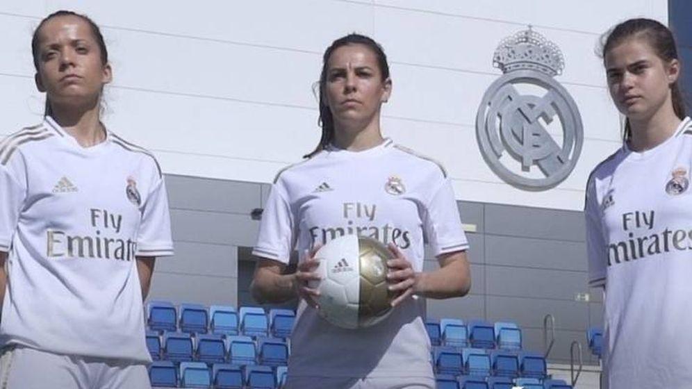 Foto: Imagen del Real Madrid femenino difundida por el club que preside Florentino Pérez.