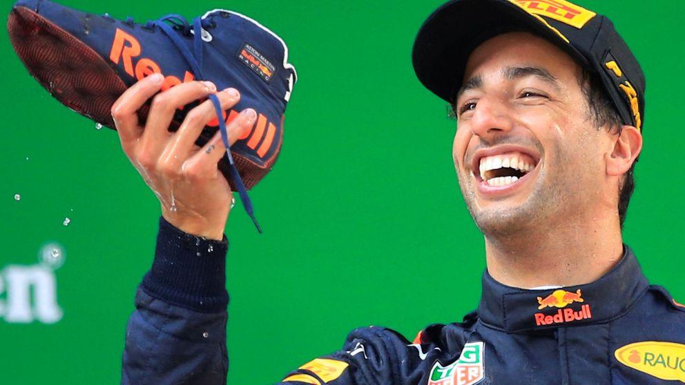 El marrón de Red Bull con Ricciardo: el que gana y a quien no 'miman'