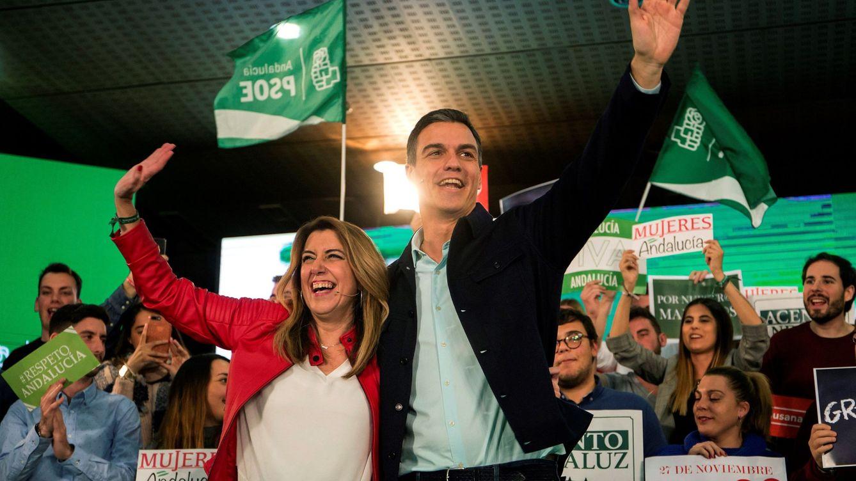 Susana Díaz sacude su campaña usando a Vox para movilizar a los abstencionistas